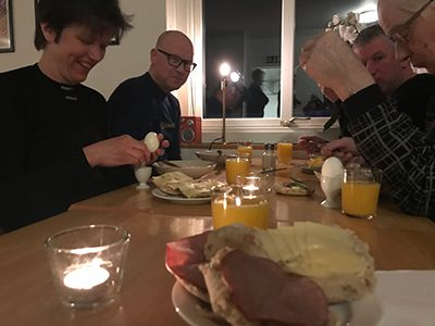 Frukost Trogåsgården
