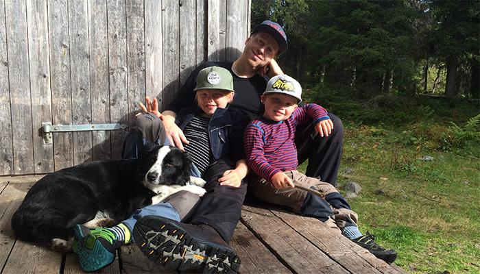 Familjeäventyr i naturen